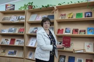 Песни фронтовиков-юбиляров звучали 17 мая в библиотеке «Отчий край»