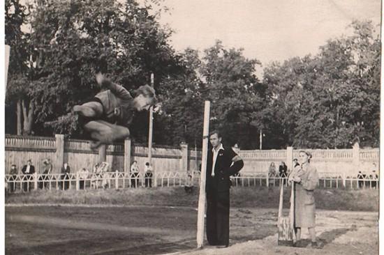 В фотогалерее – Выкса спортивная 50-х годов